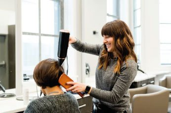 self-care hairdressers