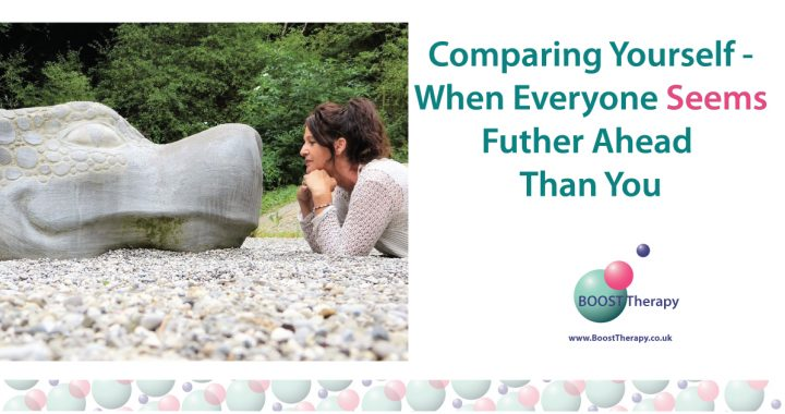 Comparing yourself to others, when everyone seems further ahead than you